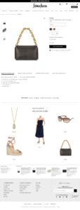 Capture d'écran d'un exemple de push produit en fiche produit sur le site de prêt à porter Neiman Marcus